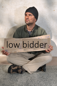 homeless bidder